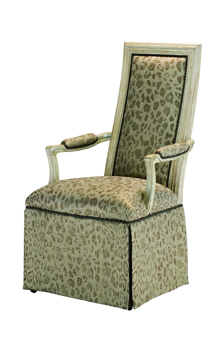 Caldwell Arm Chair | Marge Carson Within Caldwell Armchairs (View 3 of 20)