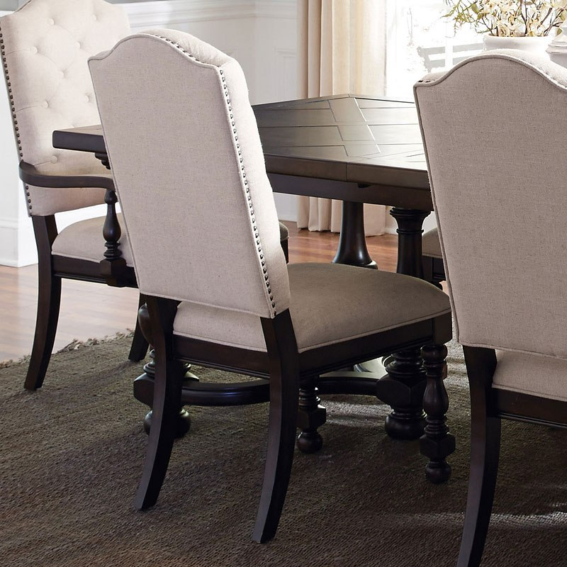 Caldwell Upholstered Side Chair (set Of 2) With Regard To Caldwell Armchairs (View 15 of 20)