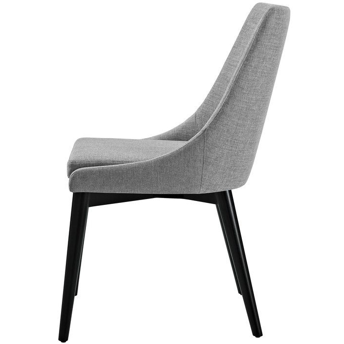 Carlton Wood Leg Upholstered Dining Chair | Fabric Dining For Carlton Wood Leg Upholstered Dining Chairs (View 2 of 20)