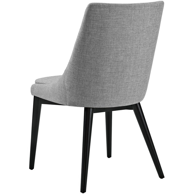 Carlton Wood Leg Upholstered Dining Chair With Regard To Carlton Wood Leg Upholstered Dining Chairs (View 10 of 20)