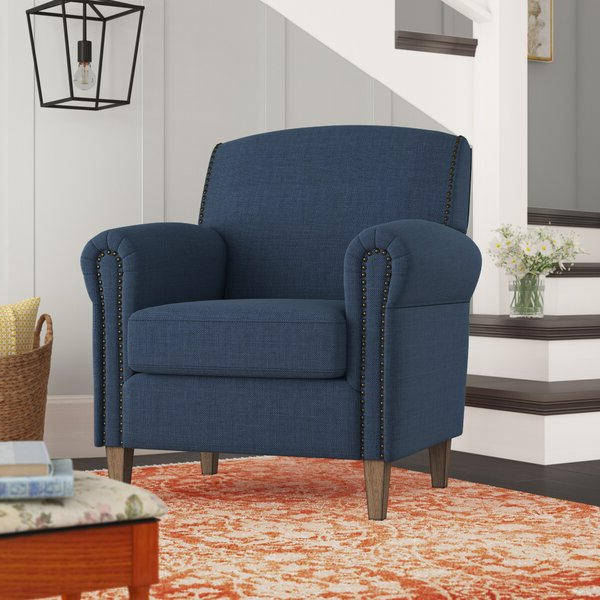 Carney Hill Arm Chair Pertaining To Bethine Polyester Armchairs (set Of 2) (View 8 of 20)