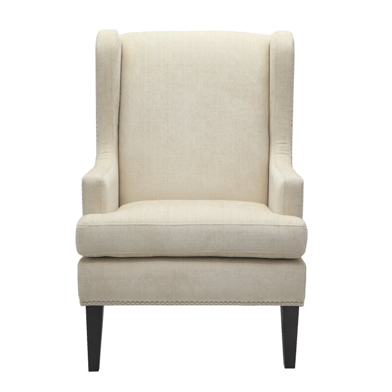 Cassye Wingback Chair Intended For Saige Wingback Chairs (View 11 of 20)
