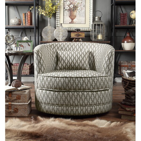 Cayman Geometric Barrel Chair For Brames Barrel Chair And Ottoman Sets (View 16 of 20)