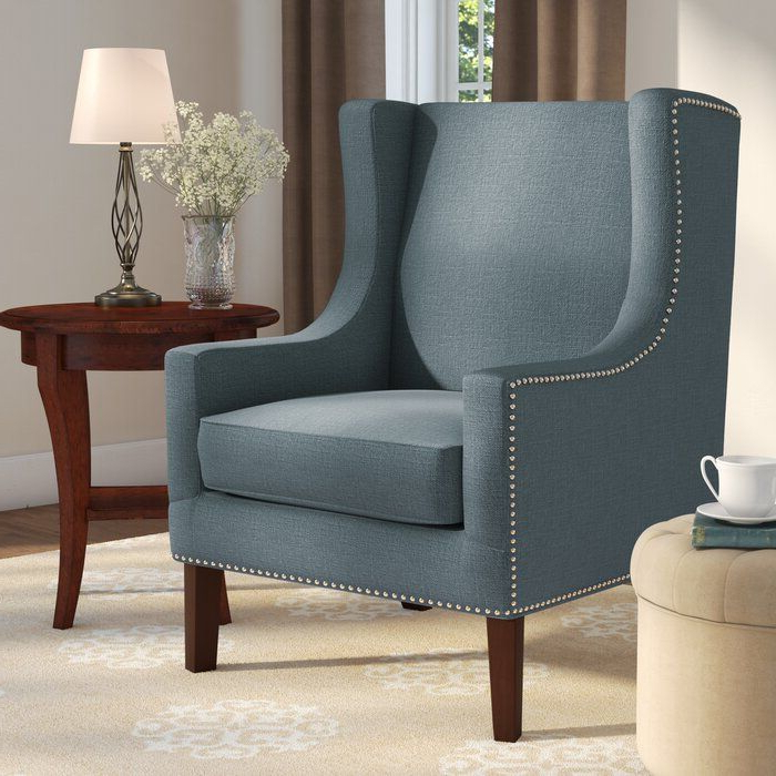 Chagnon Wingback Chair | Accent Chairs, Wingback Chair With Chagnon Wingback Chairs (View 4 of 20)