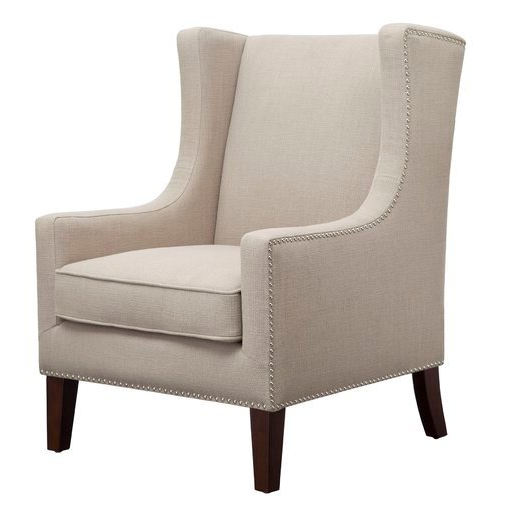 Chagnon Wingback Chair – Wayfair Intended For Chagnon Wingback Chairs (View 15 of 20)