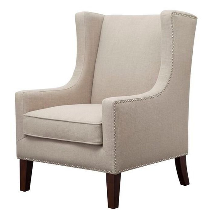 Chagnon Wingback Chair – Wayfair Intended For Chagnon Wingback Chairs (View 5 of 20)