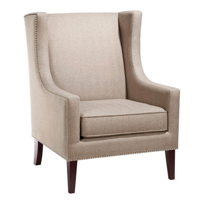 Chagnon Wingback Chair With Regard To Chagnon Wingback Chairs (View 6 of 20)