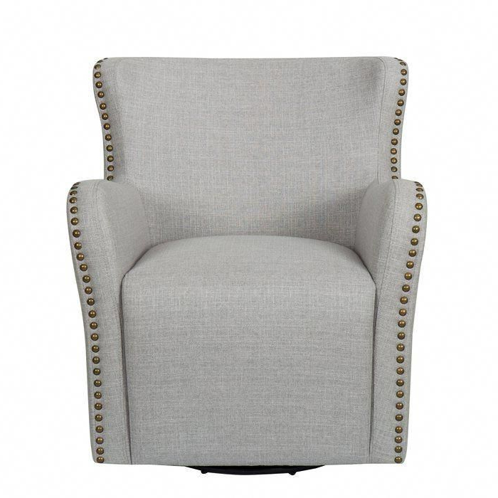 Chairs Bed Bath And Beyond #chairandahalf | Upholstered Pertaining To Vineland Polyester Swivel Armchairs (View 18 of 20)