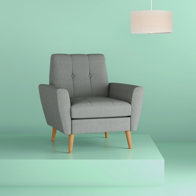 Chauvin Armchair With Regard To Hiltz Armchairs (View 16 of 20)