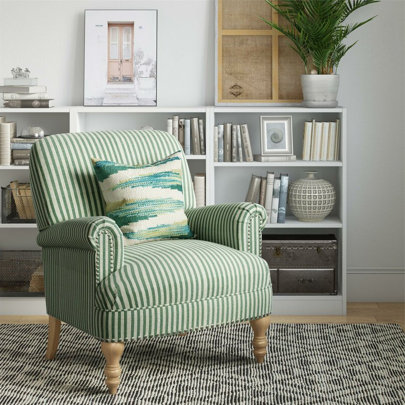 Cheryl Armchair Throughout Busti Wingback Chairs (View 17 of 20)