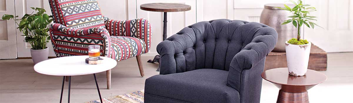 Choosing Comfortable Chairs For Small Spaces | World Market With Live It Cozy Armchairs (View 15 of 20)