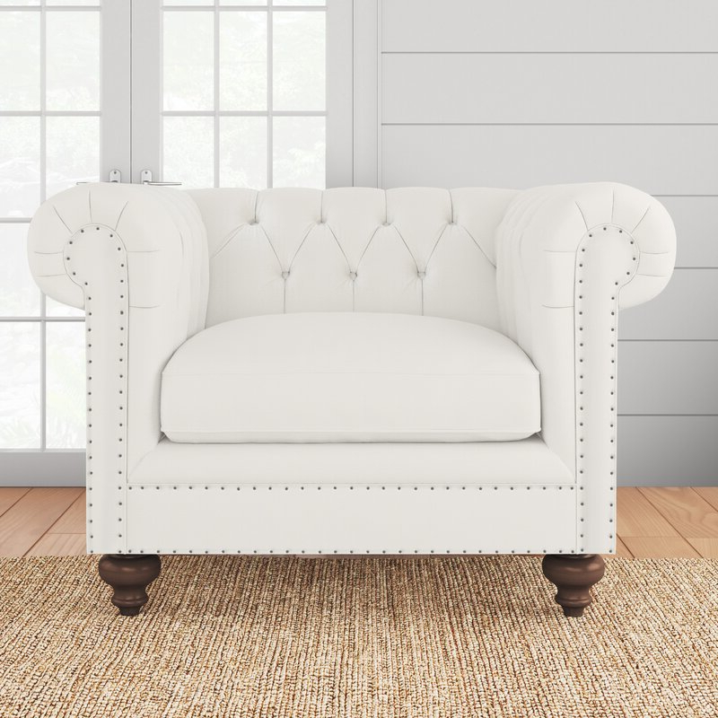 Cohutta Chesterfield Chair With Regard To Cohutta Armchairs (View 4 of 20)