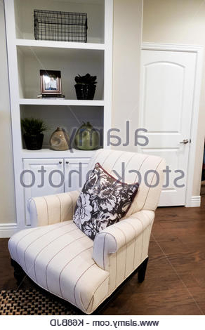 Contemporary Chair In Front Of Built In Polished Cupboards Regarding Autenberg Armchairs (View 20 of 20)