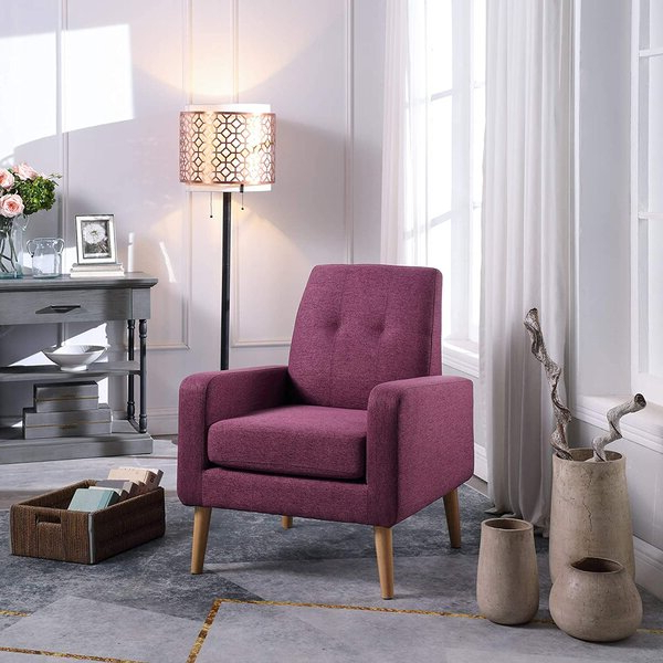 Cozy Reading Chair Purple Pertaining To Live It Cozy Armchairs (View 18 of 20)