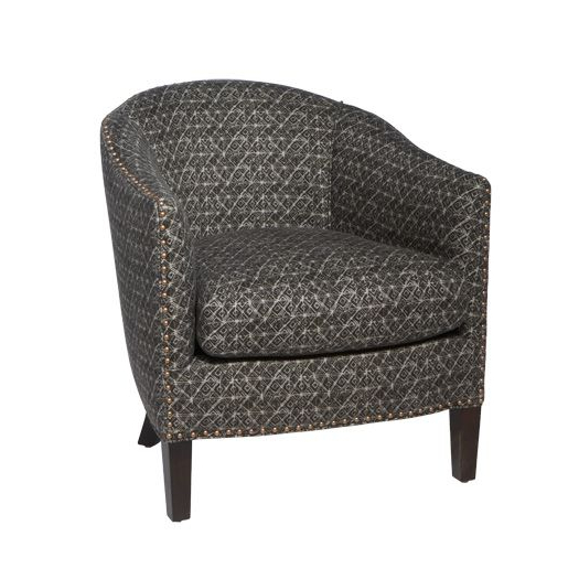 Crescent Chair | Chair, Big Chair, Barrel Chair For Brames Barrel Chair And Ottoman Sets (View 18 of 20)