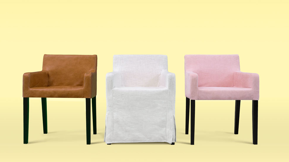 Custom Dining Chair Slipcovers – Get A Classic Or Modern Inside Chiles Linen Side Chairs (View 19 of 20)