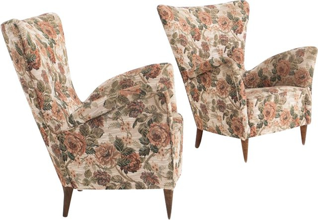 Customizable Italian Armchairs, 1950s, Set Of 2 With Regard To Georgina Armchairs (set Of 2) (View 19 of 20)