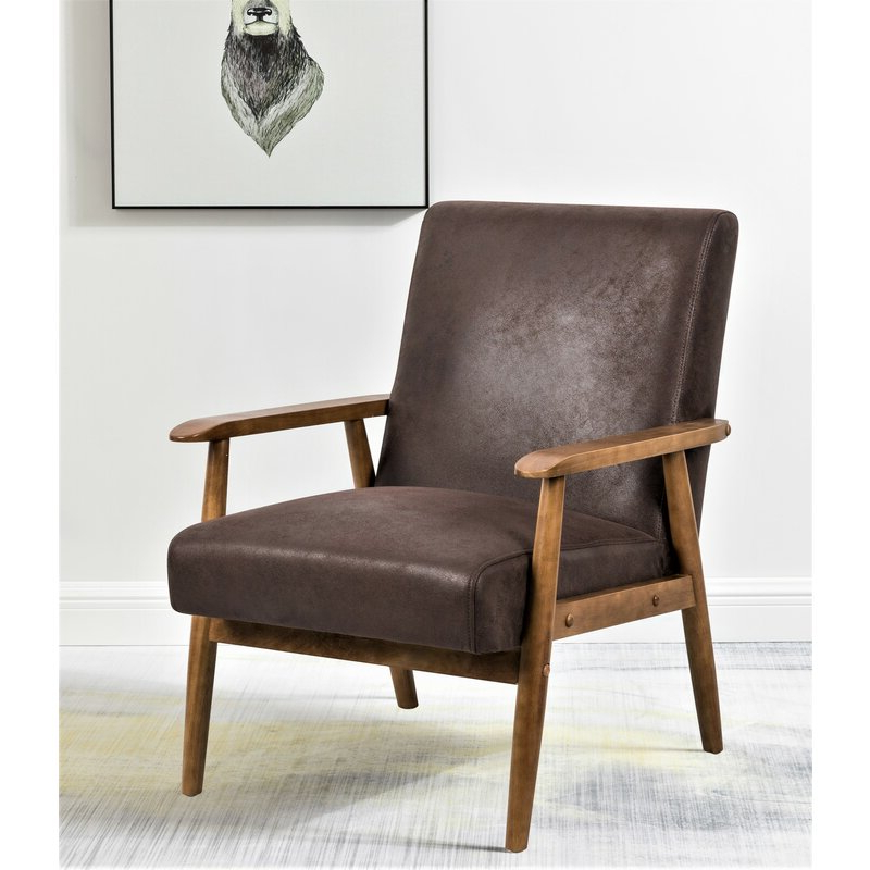 """Damm 21"""" Armchair In Leppert Armchairs (View 2 of 20)"""