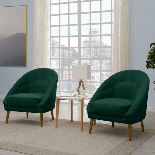 """Danny 20"""" Barrel Chair 
