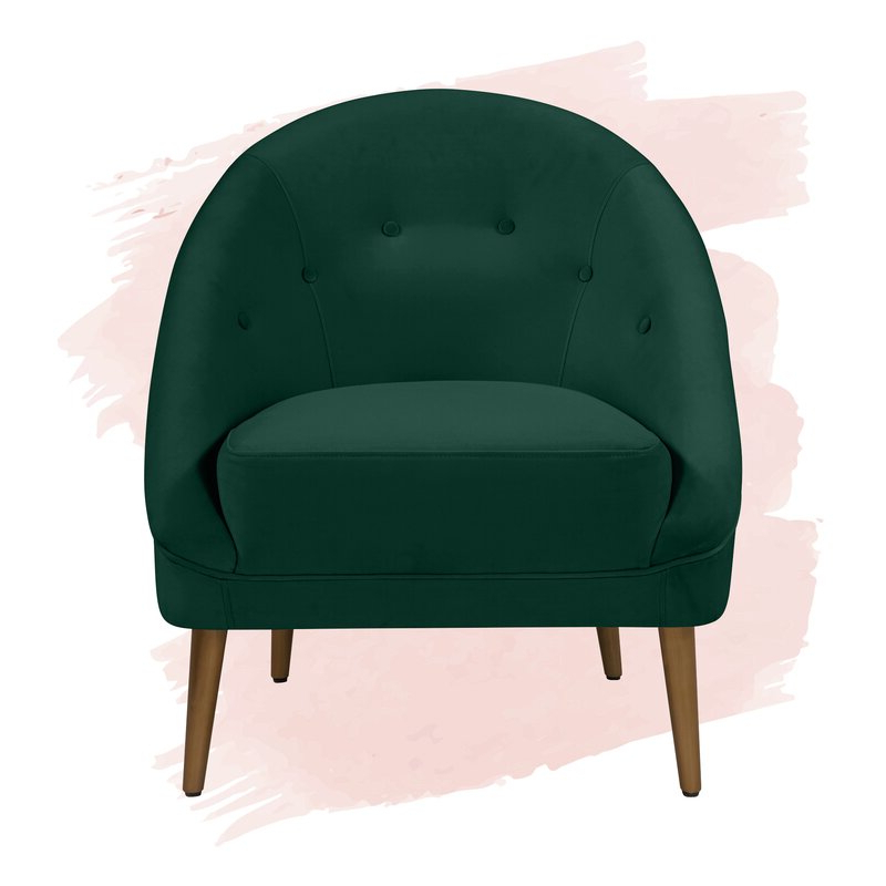 """Danny 20"""" Barrel Chair Inside Danny Barrel Chairs (set Of 2) (View 2 of 20)"""