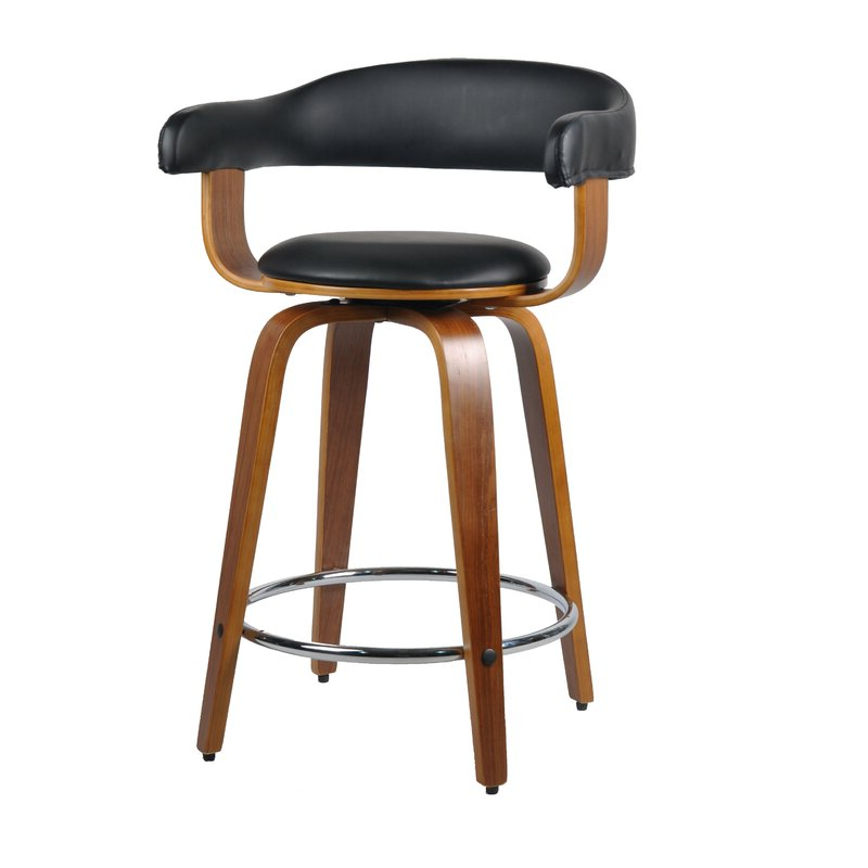 Dansby 61cm Swivel Bar Stool Regarding Ansby Barrel Chairs (View 20 of 20)