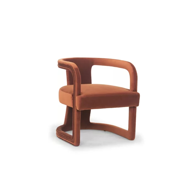 Depuy Barrel Chair In 2021 | Side Chairs, Furniture, Nyc Intended For Danow Polyester Barrel Chairs (View 20 of 20)