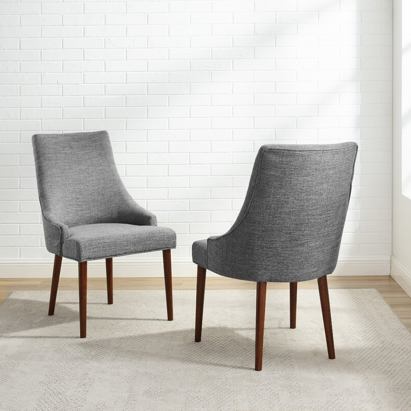 Destiny Upholstered Wingback Parsons Chair Within Busti Wingback Chairs (View 20 of 20)