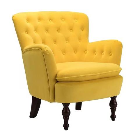 Didonato Velvet Tufted Upholstered Armchair In 2020 For Didonato Tufted Velvet Armchairs (View 3 of 20)