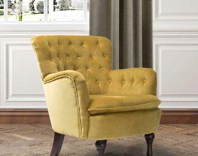 Didonato Velvet Tufted Upholstered Armchair   Joss & Main In Didonato Tufted Velvet Armchairs (View 12 of 20)