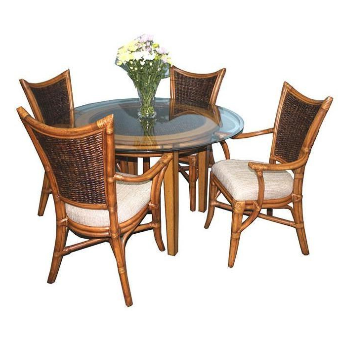 Dining Room Dining Room Sets Beachwood 3850 5 Pc Round In Beachwood Arm Chairs (View 16 of 20)