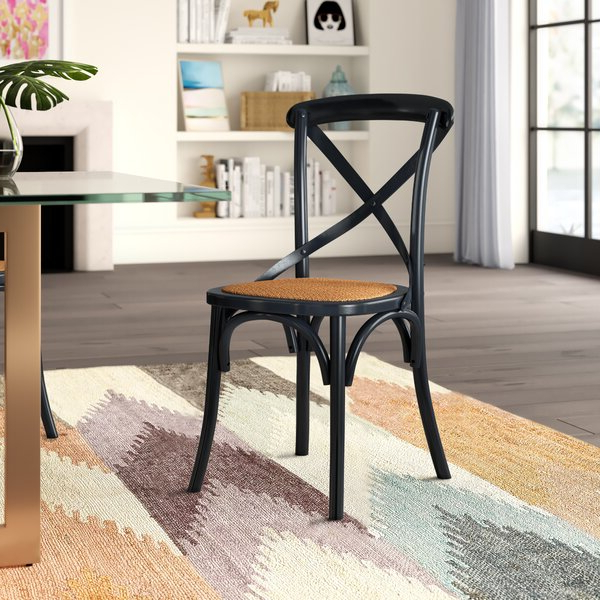 Doncaster Crossback Solid Wood Dining Chair With Dorcaster Barrel Chairs (View 11 of 20)