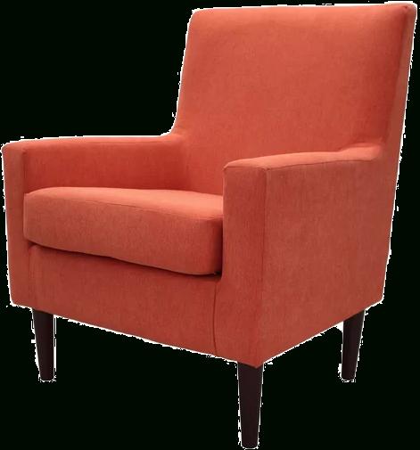 Donham Lounge Chair   Hacienda Orange In Donham Armchairs (View 15 of 20)