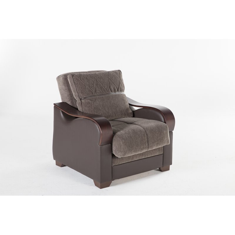 Dougie Convertible Chair With Blaithin Simple Single Barrel Chairs (View 17 of 20)