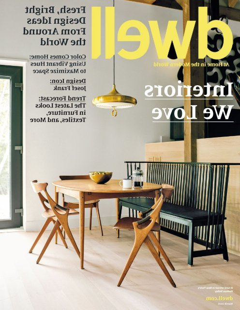 Dwell 2016 03 With Regard To Gilad Faux Leather Barrel Chairs (View 20 of 20)