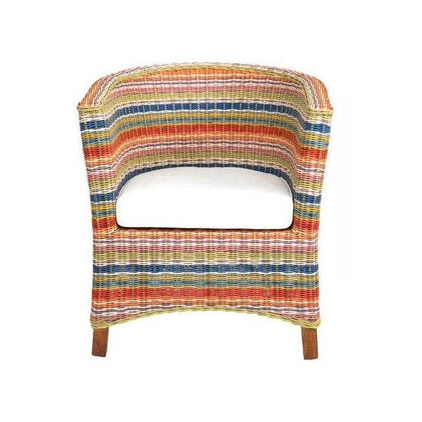 East At Main Highland Multi Colored Rattan Occasional Chair Throughout Navin Barrel Chairs (View 12 of 20)