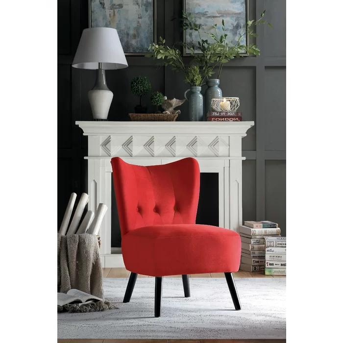 Easterling Velvet Slipper Chair | Velvet Accent Chair For Easterling Velvet Slipper Chairs (View 3 of 20)
