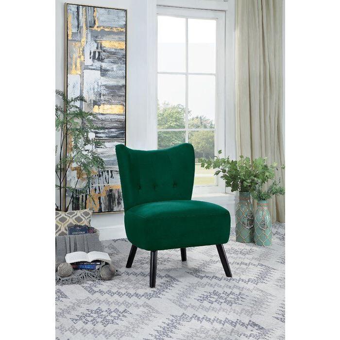 Easterling Velvet Slipper Chair With Regard To Easterling Velvet Slipper Chairs (View 4 of 20)