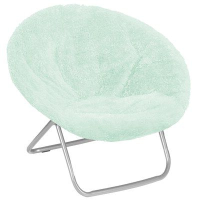 Ebern Designs Hilaria Papasan Chair Fabric: Mint Polyester Inside Grinnell Silky Velvet Papasan Chairs (View 7 of 20)