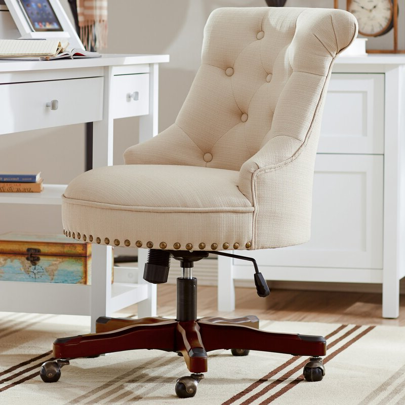 Eckard Task Chair For Hutchinsen Polyester Blend Armchairs (View 17 of 20)