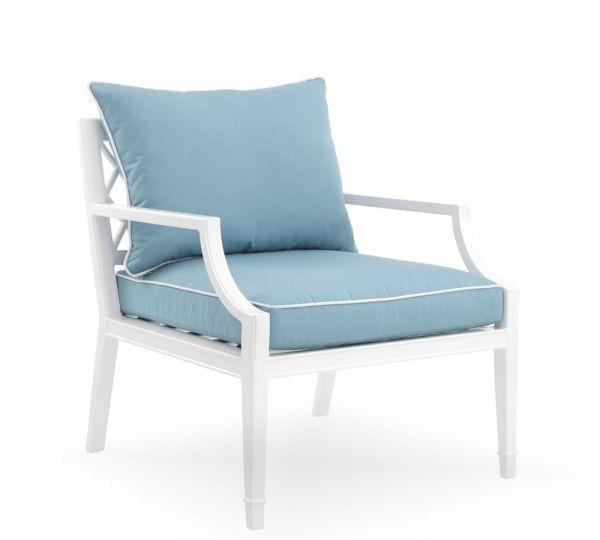 Eichholtz Chair Bella Vista White Finish For Hiltz Armchairs (View 6 of 20)