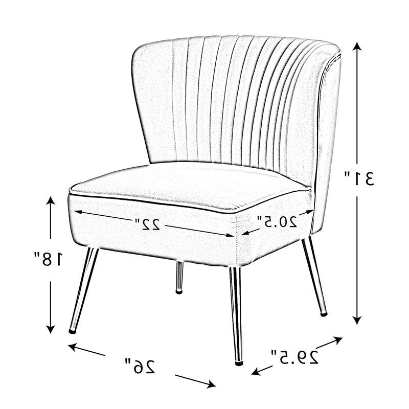 Erasmus Side Chair In Erasmus Velvet Side Chairs (set Of 2) (View 12 of 20)