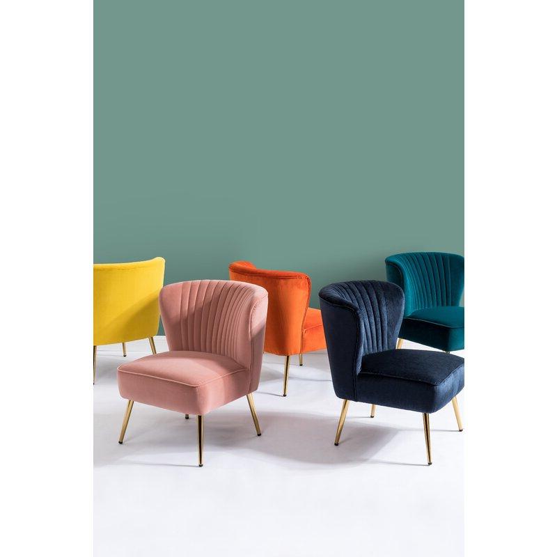 Erasmus Side Chair Regarding Erasmus Velvet Side Chairs (set Of 2) (View 8 of 20)