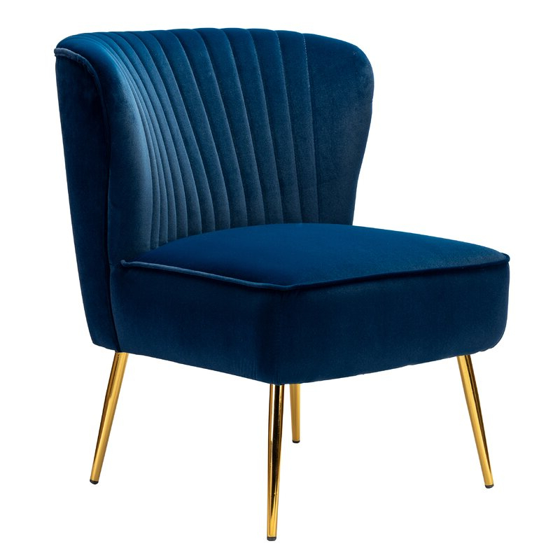Erasmus Side Chair Regarding Erasmus Velvet Side Chairs (set Of 2) (View 3 of 20)