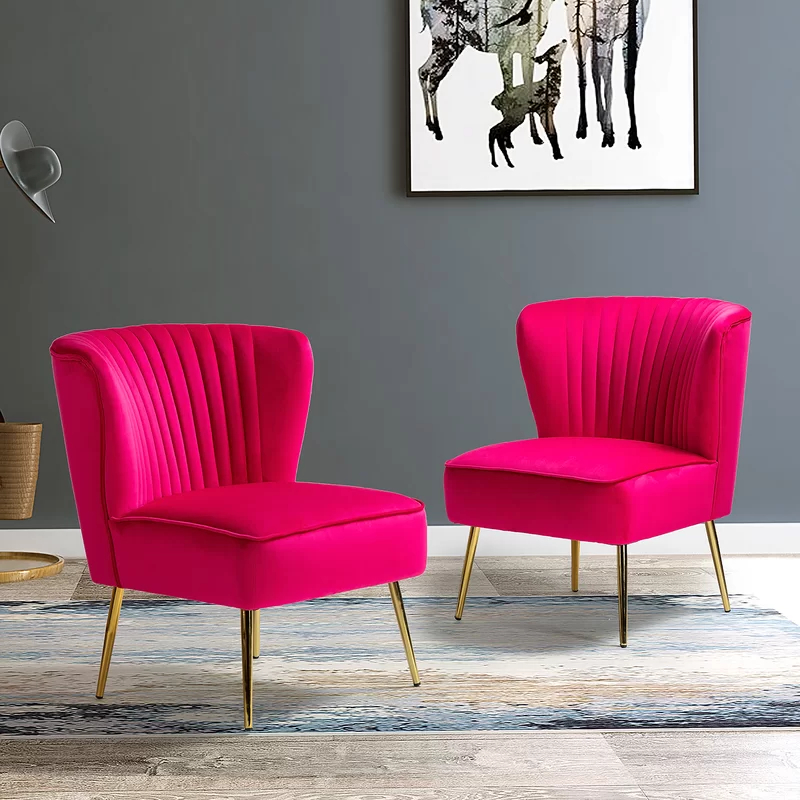 Erasmus Side Chair   Side Chairs, Mid Century Modern Side In Erasmus Velvet Side Chairs (set Of 2) (View 10 of 20)