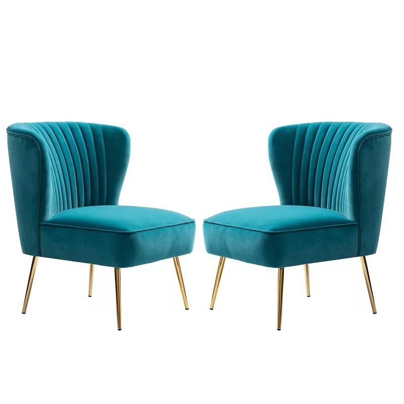 Erasmus Side Chair   Side Chairs, Modern Side Chairs, Chair For Erasmus Velvet Side Chairs (set Of 2) (View 5 of 20)