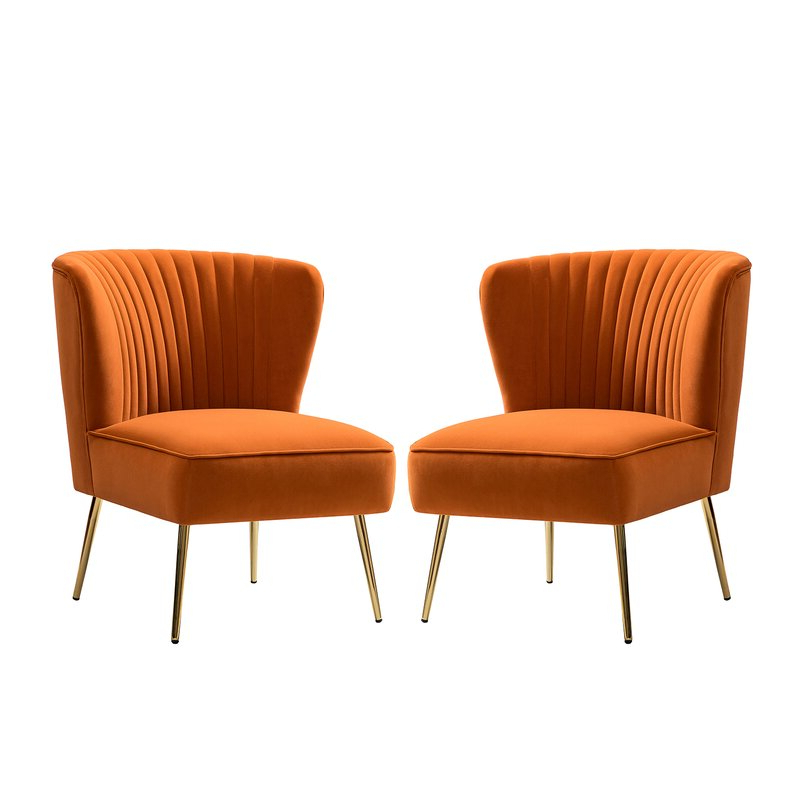 Erasmus Side Chair Throughout Erasmus Velvet Side Chairs (set Of 2) (View 4 of 20)