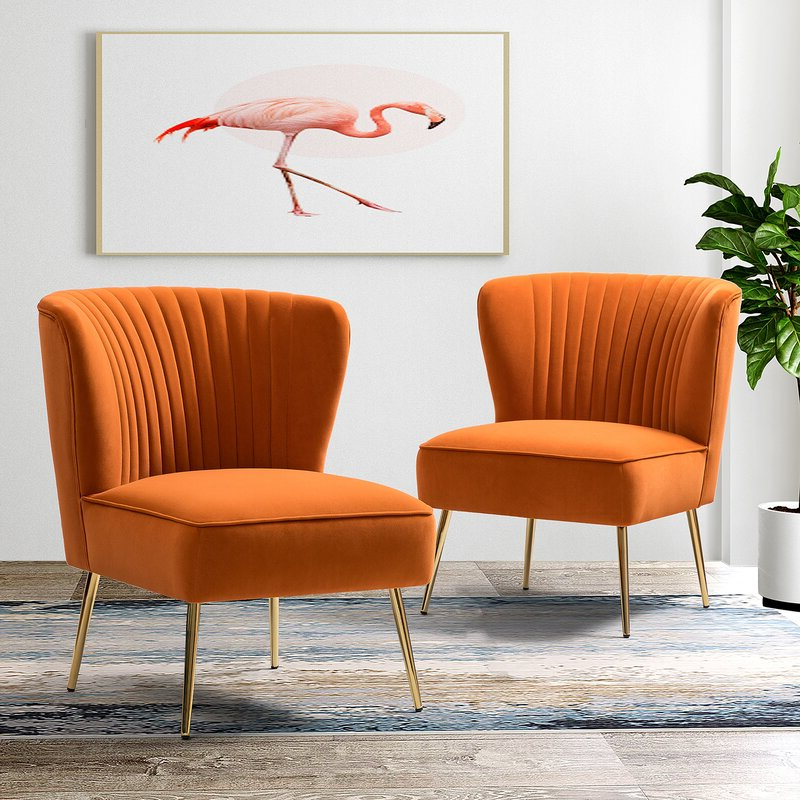 Erasmus Side Chair With Erasmus Velvet Side Chairs (set Of 2) (View 9 of 20)