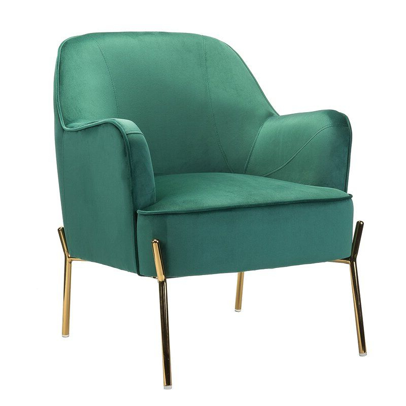 Erastus Armchair | Accent Chairs, Upholstered Seating, Armchair Inside Erastus Armchairs (View 2 of 20)