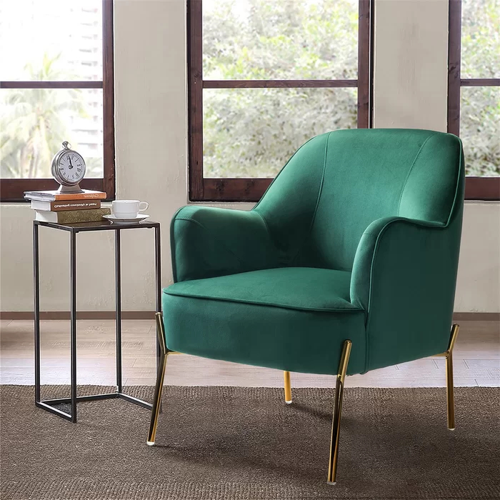 Erastus Armchair | Upholstered Accent Chairs, Accent Chairs Intended For Erastus Armchairs (View 18 of 20)