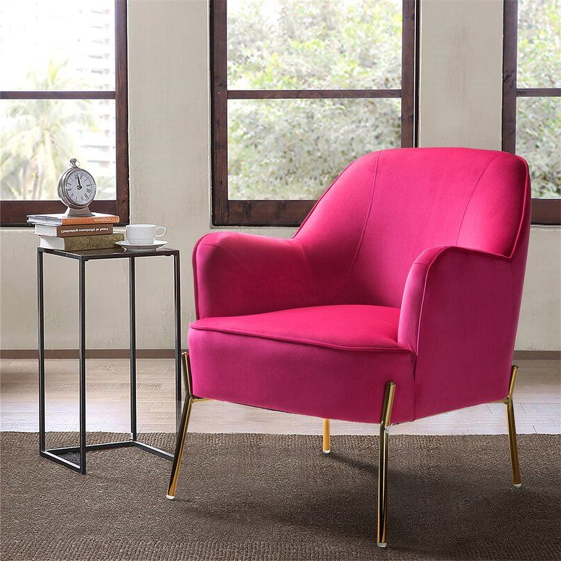 Erastus Armchair | Upholstered Accent Chairs, Living Room Pertaining To Erastus Armchairs (View 4 of 20)